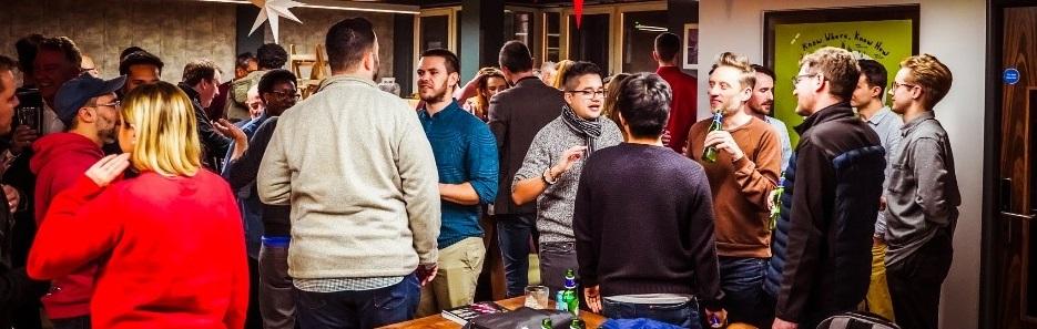 Cheers! Geoplan sponsors the Leeds Digital Christmas Party