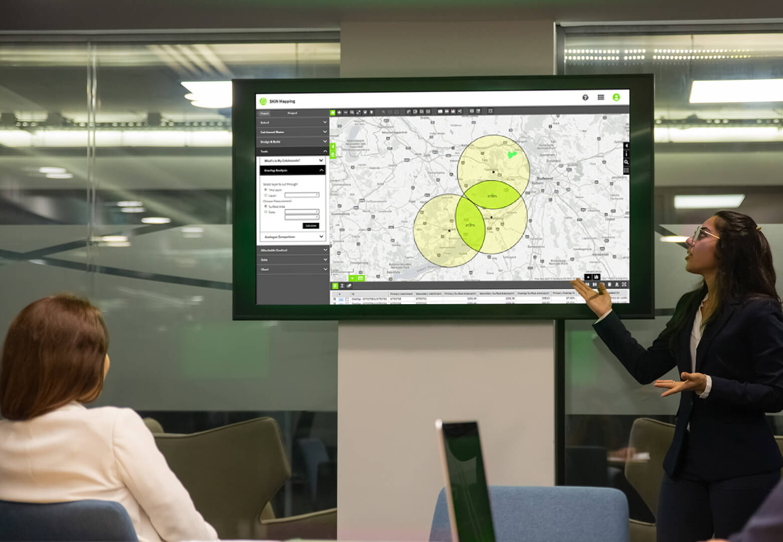 Optimising Sales Territories via Map